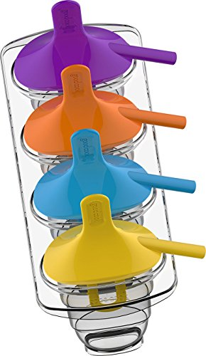 Good Cook 4-Piece Ice Popsicle Maker
