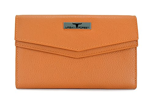 Urban Forest Mustard Womens Leather Wallet TESS