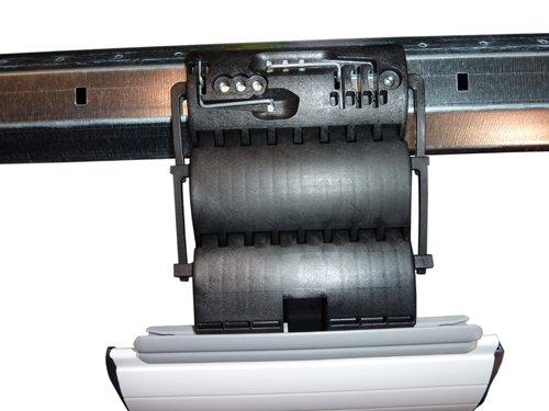 3er Set Hochschiebesicherung fester Wellenverbinder 3-gliedrig für Rollladen Rolladen (Einbruchschutz)