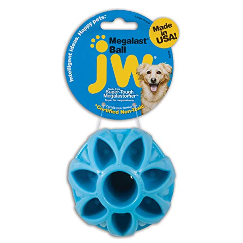 JW Pet Company Megalast Ball Dog Toy, Large...