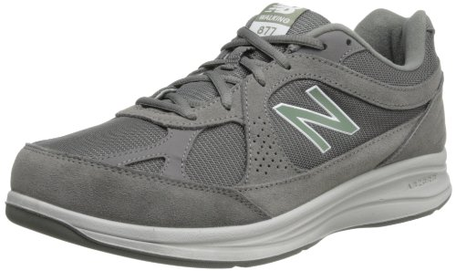 New Balance Men's 877 V1 Walking Shoe, Grey, 10 XW US