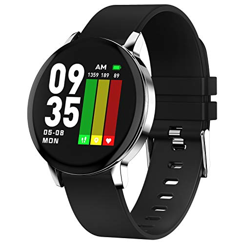 Ackofit Smart Watch Activity Fitness Tracker (Black)