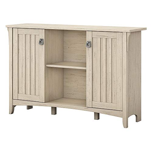 Bush Furniture Salinas Accent Storage Cabinet with Doors in Antique...