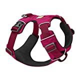 RUFFWEAR - Front Range Dog Harness, Reflective and Padded Harness for Training and Everyday, Hibiscus Pink, X-Small