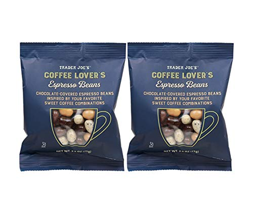 Trader Joe's Coffee Lover's Chocolate-Covered Assorted Espresso Beans: 2 Pack (5 oz)