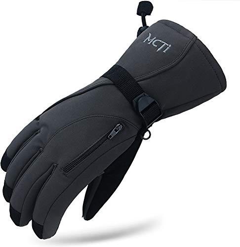 MCTi Winter Ski Gloves - Waterproof, Windproof, 3M Thinsulate