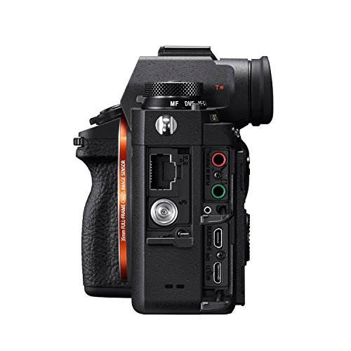 Sony ILCE-9 Full-Frame 24.2MP Mirrorless Interchangeable Lens Camera Body Only (Black) + SanDisk 128GB Extreme Pro SDXC UHS-I Card - C10, U3, V30, 4K UHD, SD Card 4