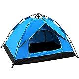 JQDZX Camping Tente- Pop-up légère Tente, 2-4 Personnes 4 Saison...