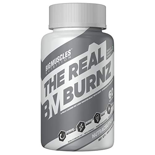 Bigmuscles Nutrition The Real Burnz Fast Acting Fat Burner