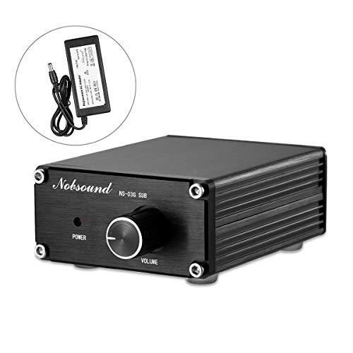 Nobsound 100W Subwoofer Digital Power Amplifier Audio Mini Amp Audio Verstärker (Black)