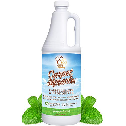 Carpet Miracle - The Best Carpet Cleaner Shampoo Solution for...