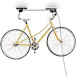 Relaxdays Support vélo rangement vélo plafond Garage Ascenseur VTT Stockage...