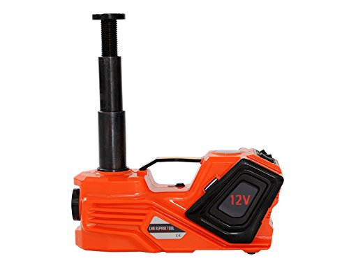 YASI MFG® 3.5T 15.5-45cm Hydraulikheber Elektrischer Hydraulischer Wagenheber Elektro Scherenlift für SUV und Auto 3 IN 1