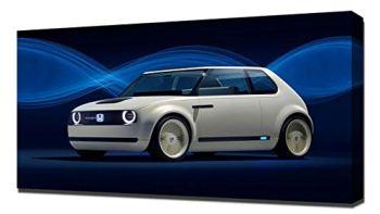 Lilarama 2017 Honda Urban EV Concept V1 - Canvas Art Print - Wall Art - Canvas Wrap