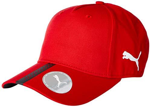 Puma 22356, Cappello Adulto, Red/Black, OSFA