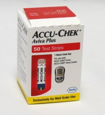 ACCU-CHECK Aviva Plus Test Strips [AVIVA PLUS STRIPS HD MAILORDER] (BX-50)