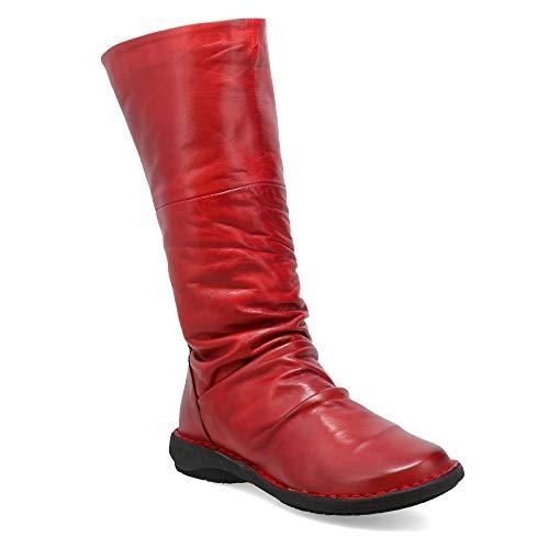 Miz Mooz Prima Women's Mid-Calf Boot Red