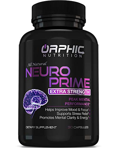 Neuro Prime Brain Booster Supplement - Memory, Focus,...