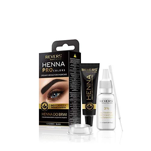 Color de cejas y pestañas negro 1.0 Bio fórmula crema 15 m