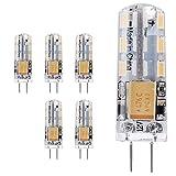 ELINKUME 5X G4 Ampoules LED 2W Spot Lampe LED Bulb 24 SMD3014 LEDs Blanc...