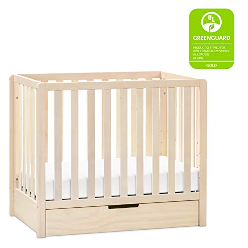 Product Image 2: Carter's by DaVinci Colby 4-in-1 Convertible Mini Crib with Trundle in Washed Natural, Greenguard Gold Certified