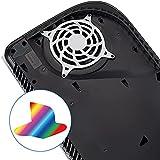 Logo Underlay Sticker per PS5 Logo Galvanotecnica Sticker Decal Skin Host Film per PS5 Decal Skins per PS5 Console
