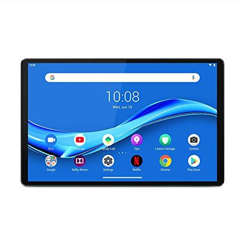 Lenovo M10 FHD Plus - Tablet de 10.3' Full HD/IPS (MediaTek Helio P22T, 4 GB de RAM, 64 GB ampliables hasta 256 GB, Android 9, WiFi + Bluetooth 5.0) Plata (Iron Grey)