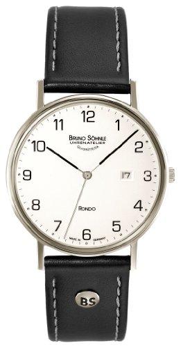 Bruno Söhnle Herren Analog Quarz Uhr mit Leder Armband 17-13105-221