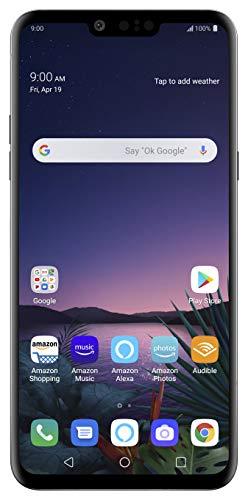 LG G8 ThinQ with Alexa Hands-Free  Unlocked SMARTPHONE  128 GB  Aurora Black (US Warranty)  Verizon, AT&T, TMobile, Sprint, Boost, Cricket, & Metro