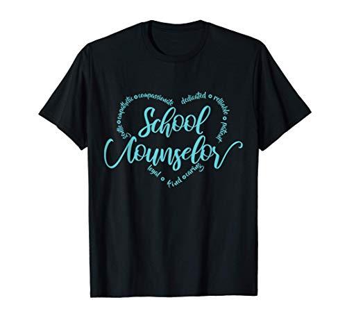 School Counselor Appreciation Gift T-Shirt