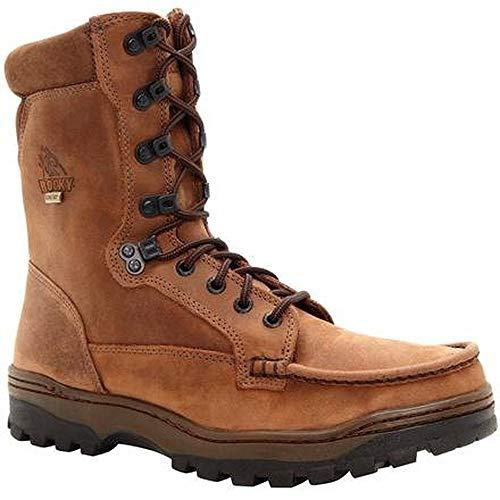 Rocky Men's FQ0008729 Hiking Boot, Light Brown, 10 ME