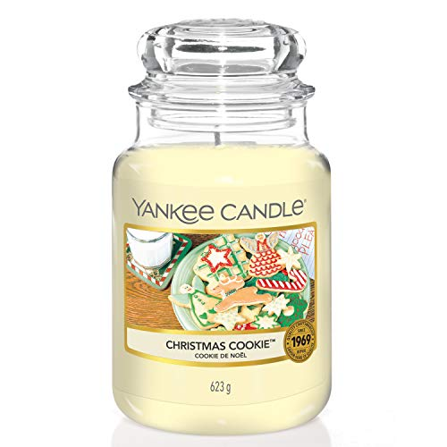 Christmas Cookie di Yankee Candle, giara grande