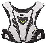 STX Lacrosse Cell 4 Shoulder Pad Liner, White, Large