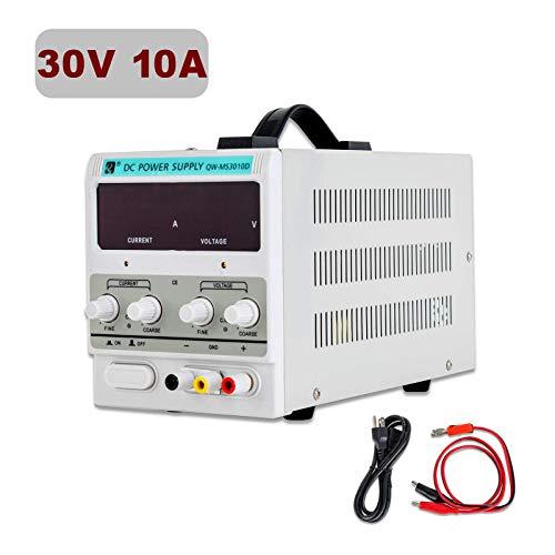 SUNCOO Variable DC Power Supply 0-30V 0-10A Adjustable...