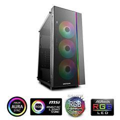 DeepCool ATX Mid Tower 3pcs Add-RGB Cooling Fan pre-Install/Support E-ATX MB Cases MATREXX 55 ADD-RGB 3F