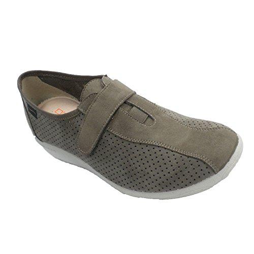 Zapatillas Mujer Que simulan Zapato de Ante Doctor Cutillas en beig Talla 38