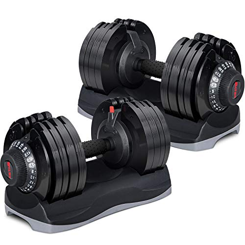 Merax Deluxe 71.5 Pounds Dumbbells