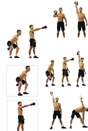 BUY-TO Kettle Bells Weight Sets Environmental Fitness Lifting Dumbbells Men Women Athletic Training Home Private Education,12kg 3