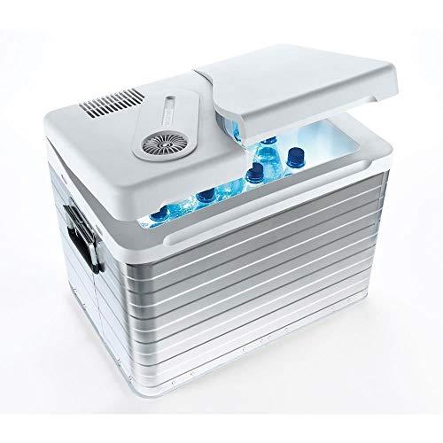 Mobicool Q40 AC/DC Frigo portatile, 12/220v , 40 litri circa, 58.0 x 39.0 x 44.0 cm, colore Alluminio
