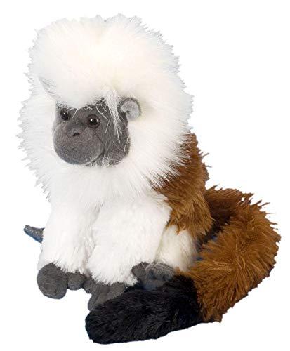 Wild Republic - CK Mini tití cabeza blanca de peluche, 20 c