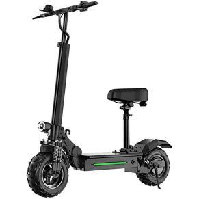 Adultos Scooter Eléctrico 150 Kg, Motor De Potencia Máx. Velocidad De 40 Km/H Sistema De Frenos Doble 60 Kilometros De…