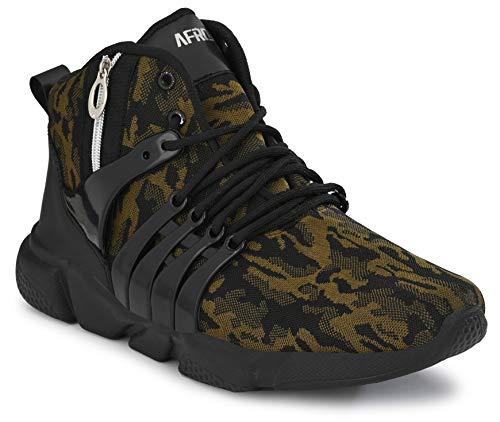 AFROJACK Men's Green Running Shoes - 9