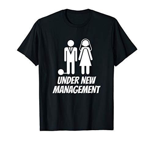 Mens Funny Just Married T-shirt, Fun Newlywed Gag Gifts For...