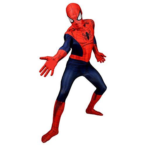 Morphsuits 'Spider-Man' - Disfaz Oficial, color Azul/ Rojo,