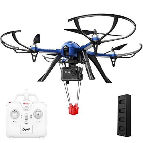 DROCON Bugs 3 Potente Motore brushless Quadcopter Drone per Adulti e hobbisti, Gopro Drone ad Alta velocit, Suport Gopro HD Camera 4K Camera, 18 Minuti di Volo 300 Metri Gamma di Controllo Lungo