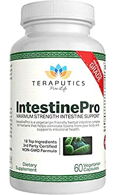 #1 INTESTINE SUPPORT SUPPLEMENT - The formula you loved is finally back! Thousands of customers agree that our intestine dietary supplement is the most effective one. Teraputics is known as THE leading brand of intestine complex formulas. This is bec...