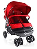Joovy Scooter X2 Double Stroller, Red