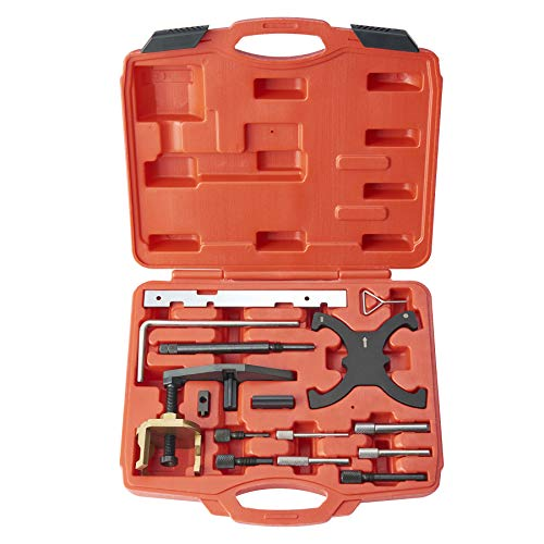 Orion Motor Tech Engine Camshaft Belt Drive Locking Alignment Timing Tool Kit for Ford Mazda| Compatible with 16V 1.4 1.6 1.8 2.0 Engines