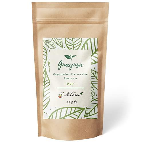 Lateano – Guayusa Tee lose organisch 100g – Energy Tee aus dem Amazonas für mehr Konzentration, Ausdauer & Leistung – die natürliche Alternative zu Kaffee