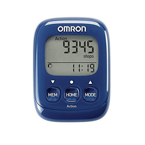 OMRON Walking Style IV HJ-325-EB - Podómetro, Contador de calorías, Bolsillo, Contador de Pasos, Color Azul